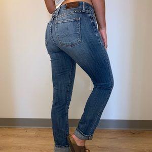 Lucky Brand Dark Wash Skinny Jeans